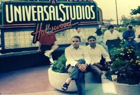 "indianhistorypics sur Twitter : ""1993 :: PM Narendra Modi at Universal Studios Hollywood , U.S.A http://t.co/8XWaaKu4jc"" 