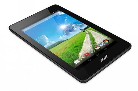 Acer : la tablette Iconia One 7 est officialisée à 139 euros | Geeks | Scoop.it