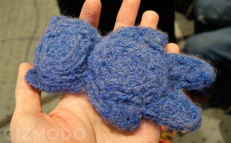 Hands-On With the World's First 3D-Printed Teddy Bear | Outbreaks of Futurity | Scoop.it