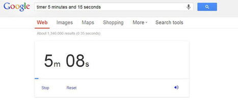 Teachers, quickly create an instant countdown timer straight from Google!   Web Site of the Week - 3.0 - SD#60 - PRN   Scoop.it