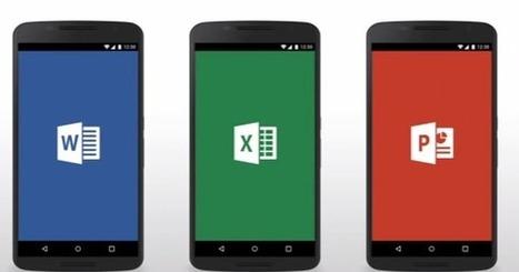 微軟 Office App Android 手機版推出支援11個重點功能 - 電腦玩物   非營利組織資訊運用停聽看   Scoop.it