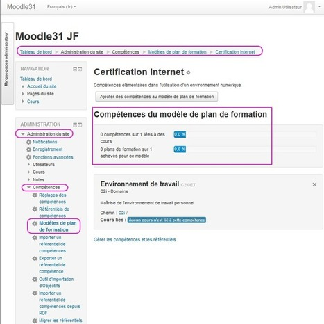 Compétences — MoodleDocs | eLearning related topics | Scoop.it