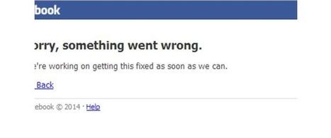La panne de Facebook en un graphique | Journalisme et Internet | Scoop.it