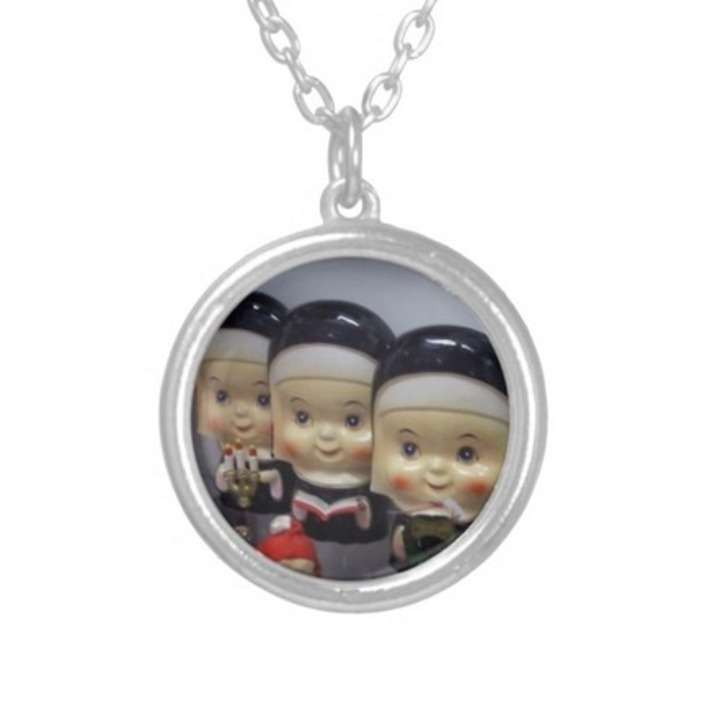 Kitschy Bobble-Head Nuns Pendant | In The Name Of God | Scoop.it