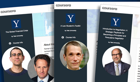 Free online learning with Yale experts now offered 'on demand' | MOOCs | Scoop.it