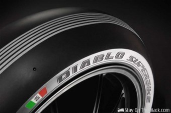 Pirelli Celebrate 25 Years Of SBK At Monza With Silver Stripe Tires | Stay On The Black | Ductalk Ducati News | Scoop.it