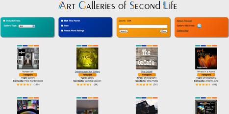 Art Galleries of SL   Digital Delights - Avatars, Virtual Worlds, Gamification   Scoop.it
