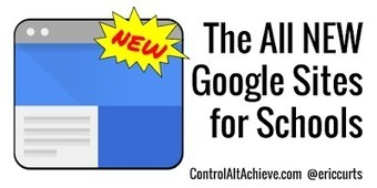 The All New Google Sites for Schools - Video Tutorial   Internet Tools for Language Learning   Scoop.it