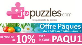 Dernier jour pour profiter -10% de réduction immédiate chez jeu-puzzles.com | Jeux store | Scoop.it