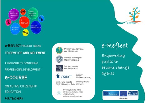 The e-Reflect project flyer | Citizenship Education | Scoop.it