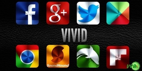 Icon Pack - VIVID 2.2.1 apk For Android Free Download ~ MU Android APK   Hot Technology News   Scoop.it