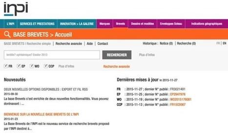 3 outils pour faire des recherches et une veille sur les brevets | Les outils de la veille | Infodoc, Veille et e-reputation | Scoop.it