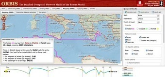 Free Technology for Teachers: Interactive Maps of Travel Routes Throughout the Roman Empire | 21st Century Tech Tools | Scoop.it