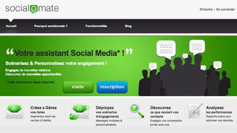 Socialomate : et si je pouvais créer automatiquement des rencontres intéressantes sur Twitter ? | Studio Vaud | Socialomate : un assistant de mise en relation sur Twitter | Scoop.it