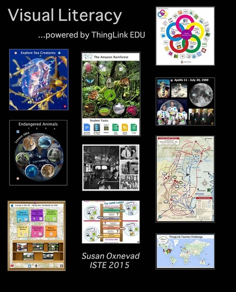 Visual Literacy Resources from ISTE 2015 | Cool Tools for 21st Century Learners | Cool Tools for Multimedia | Scoop.it