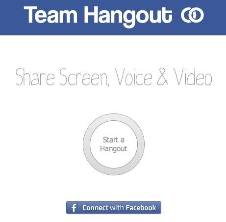 Video Conferenza Gratuita e Screen-Sharing tramite Facebook con Team Hangout | FareVideoConferenze | Scoop.it