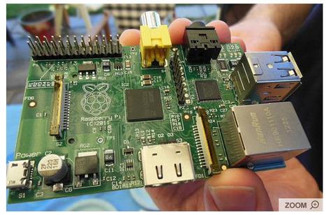 Le mini-ordinateur qui va changer le monde: Vendu 25 euros, le Raspberry Pi pourrait bien changer la donne en matière d'éducation dans les pays pauvres. | Machines Pensantes | Scoop.it