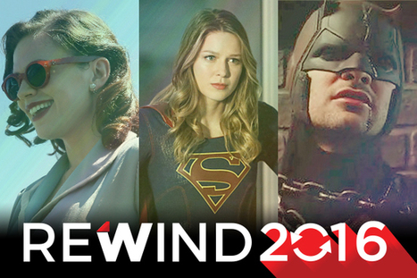 10 Biggest TV Superhero Moments in 2016, From 'Arrow' to 'Luke Cage'   ARROWTV   Scoop.it
