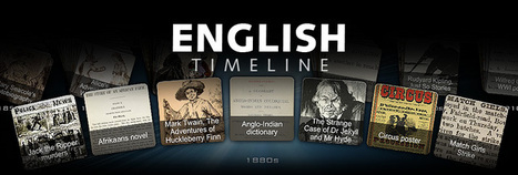 English Timeline | Thinking about teaching English | Scoop.it