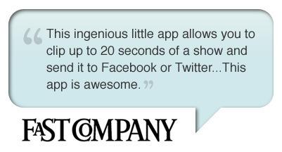 SnappyTV - Share Clips of Live TV | Social media kitbag | Scoop.it