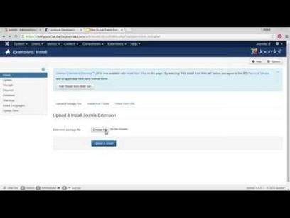 How to autotweet from Joomla! to Facebook in 5 minutes #joomla   Joomla Community News   Scoop.it