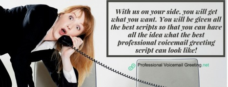 Professional voicemail greetings script writers professional voicemail greetings script writers m4hsunfo Gallery