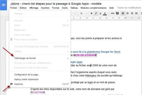 Comment publier un commentaire dans un document Google? - JalonsJalons | Google - le monde de Google | Scoop.it