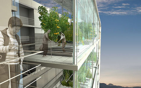 An apartment building with private hydroponic gardens | Vertical Farm - Food Factory | Scoop.it
