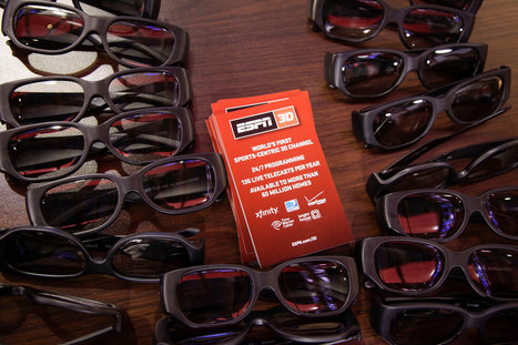 Future of 3-D TV Murky as ESPN Ends Channel   Future of TV   Scoop.it