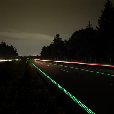 Daan Roosegaarde's glowing Van Gogh cycle path to open | Sisu Bento Box | Scoop.it