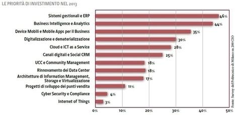 L'Agenda Digitale 2013 delle imprese italiane | Binterest | Scoop.it