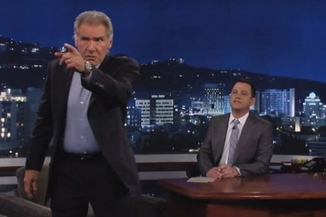 Harrison Ford Flips Out After Audience Member Asks a 'Star Wars: Episode 7′ Question | My Umbrella Cockatoo, TIKI | Scoop.it