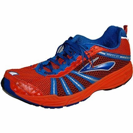 premium selection c08db 868d1 Brooks Racer ST 5 Running Shoe,Blaze Bright Navy Silver Black,12.5 M US  Men s
