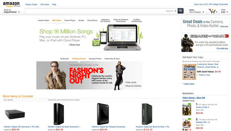 Amazon Prepares For Tablet Commerce Revolution With Website Redesign | Web Technology News | Scoop.it