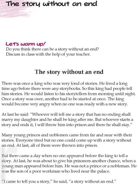 Printables English  Short Stories Grade 6 teaching and learning page 20 scoop it grade 5 reading lesson 23 short stories the story without an end literature