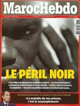 "MarocHebdo, Le Point : ces ""Merdias"" qui stigmatisent les populations   Actualités Afrique   Scoop.it"