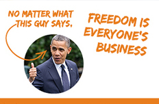 Hobby Lobby at the Supreme Court: Why Freedom Is Everyone's Business | Restore America | Scoop.it