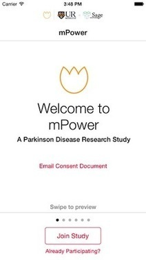 Open-science nonprofit trots out promising data from study of iPhone app for Parkinson's | eHealth | Scoop.it