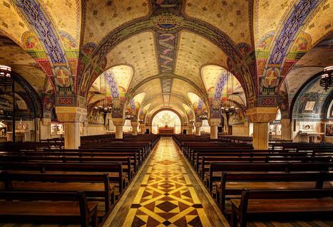 Under the Basilica of St. Thérèse, Lisieux | Arte y Fotografía | Scoop.it
