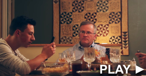 Dad fed up with sons texting during dinner gets clever revenge | Future Ready School Libraries | Scoop.it