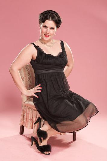 Vintage 1950s Black Nightie Shelf Bodice Lingerie Wedding Boudoir 1960s Large | Lingerie Love | Scoop.it