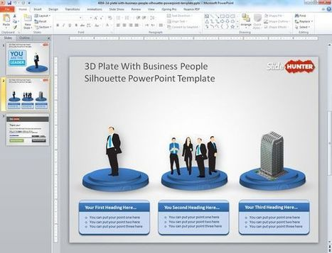 Free business powerpoint templates page 3 scoop free 3d plate with business people sillhoutte powerpoint template free business powerpoint templates scoop friedricerecipe Choice Image