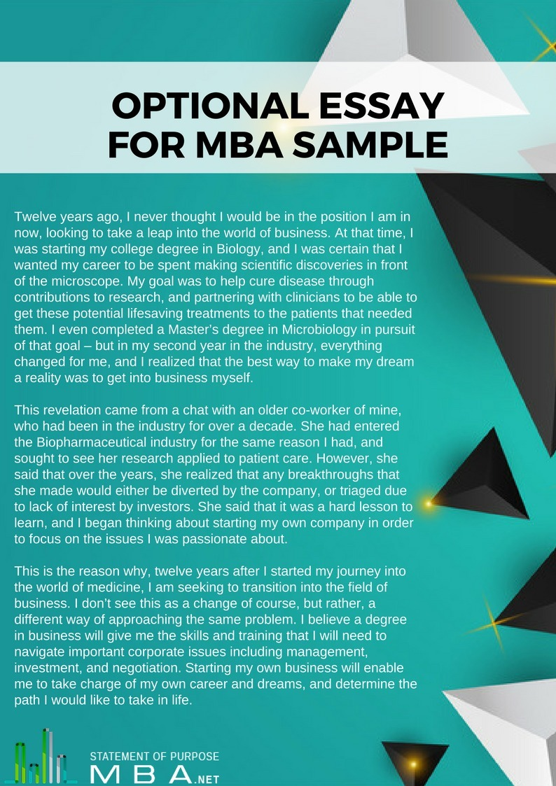 state of purpose for an mba The florida state master of business administration (mba) will equip you with the skills, expertise and professional network needed to advance in today's fast-paced business world our program is designed for highly motivated individuals seeking a competitive edge.