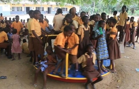Au Ghana, du courant grâce à des tourniquets dans les cours de récréation | Développement durable en France | Scoop.it