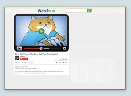 Watchkin - Watch videos without distractions | talkprimaryICT | Scoop.it