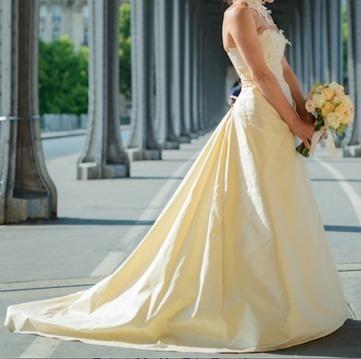 Superbe robe mariée Cymbeline en soie d'occasion - Val de Marne | Robes de mariée d'occasion | Scoop.it