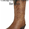 Cheap cowboy boots for men