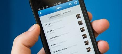 Twitter : Passez à la vitesse supérieure avec les listes | Outils et pratiques du web | Scoop.it