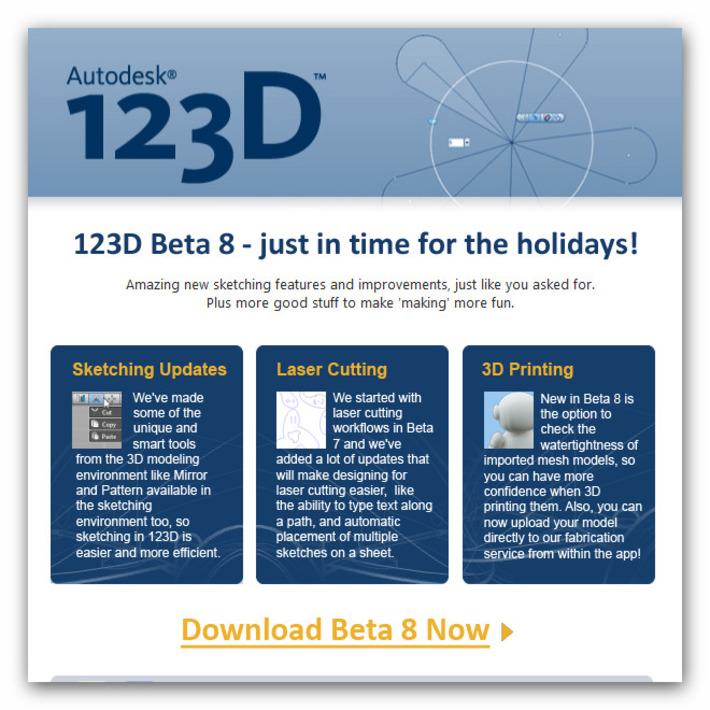 Autodesk 123D - Download Free 3D Modeling Software | Machinimania | Scoop.it