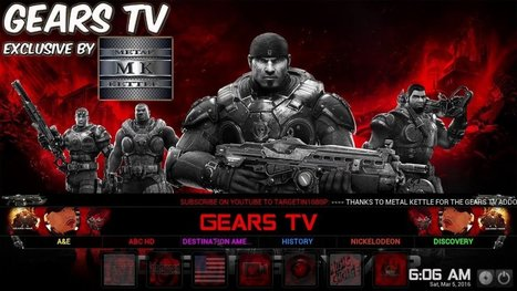 Download Gears TV APK and Install It On Andorid